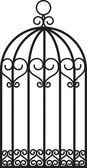 Bird cage — Stock Vector