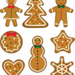 Christmas cookies set — Stock Vector #14803083