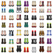 Shoes set — Stockvector