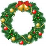Christmas garland — Stock Vector #15606245