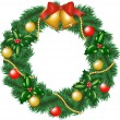 Royalty-Free Stock Vector Image: Christmas garland
