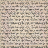 рукописное письмо — Cтоковый вектор