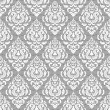 Seamless lace floral pattern — Stock Vector