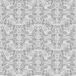 Seamless lace floral pattern - Stock Vector