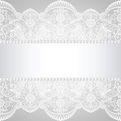 Lace background — Stock Vector