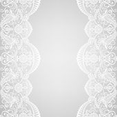 Lace border — Stock Vector