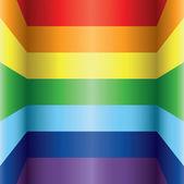 Fundo colorido arco-íris — Vetor de Stock