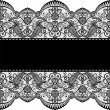 Lace border — Stock Vector #25556679