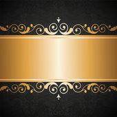 Smycken ram — Stockvektor