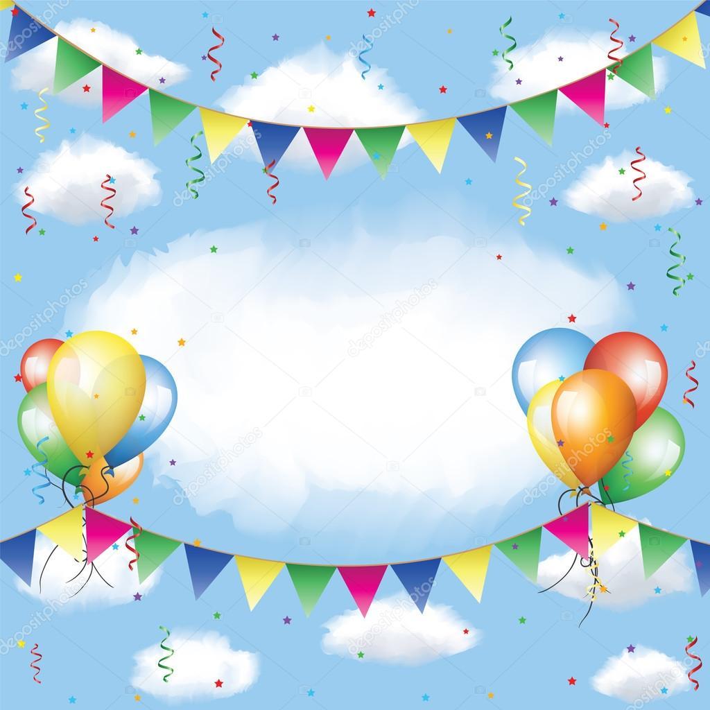 Серпантин поздравлений на день рождения 316