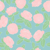 Rosas cor de rosa — Vetorial Stock