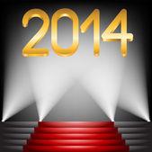 2014 year — Stock Vector