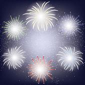 Fireworks ram — Stockvektor