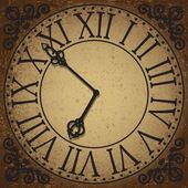 Saat yüzü — Stok Vektör