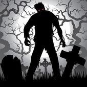 Zombie — Stockvector