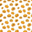 Halloween background with pumpkins — Stock Vector #32544303