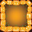 Pumpkin frame — Stock Vector #32544385