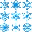 Snowflakes set — Stock Vector #34575877