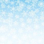 Fallen snowflakes — Stock Vector