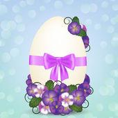 Velikonoční vajíčko — Stock vektor