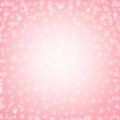 Lesklé srdce — Stock vektor