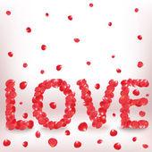 Declaration of love — Stock Vector