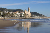 Church in Sitges — Stock Photo