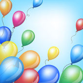 Colorful balloons — Wektor stockowy
