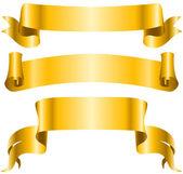 Nastro banner — Vettoriale Stock