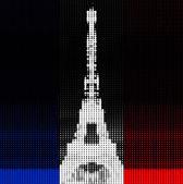 Torre eiffel — Vettoriale Stock