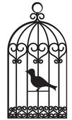 Bird cage — Stockvector