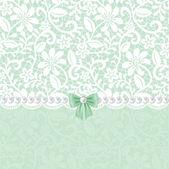Lace floral frame — Stockvektor