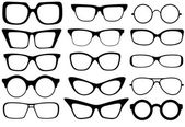 Mode glasögon — Stockvektor