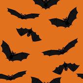 Murciélagos vuelan — Vector de stock
