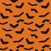 Flygande fladdermöss — Stockvektor