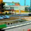 Stock Video: Tilt shift