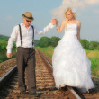 Wedding couple — Stock Photo #19114407