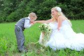 結婚式の花嫁 — ストック写真
