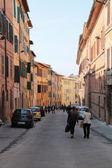Calle de siena — Foto de Stock