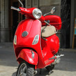 Red scooter — Stock Photo #30723107