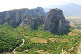 Beautiful landscape of mountain, Meteora, Greece — Stock Photo
