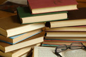 Reading old books — Fotografia Stock