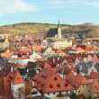 View on Krumlov, Czech Republic — Stock Photo
