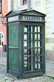 Telephone cabine — Stock Photo