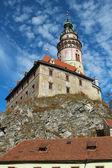 Castle in Krumlov, Czech Republic — Stock Photo