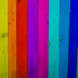 Colorful wood planks background — Stock Photo