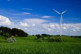 Wind turbines — Foto de Stock