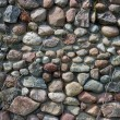Stock Photo: Old boulder stone wall