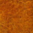 Brown leather background or texture — Stock Photo
