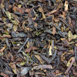 Dried tea leaves, macro — Stock Photo